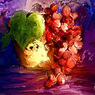 Grapes of Colour/ after the masters  by bev langby