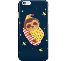Sleeping Like a Sloth iPhone Case/Skin