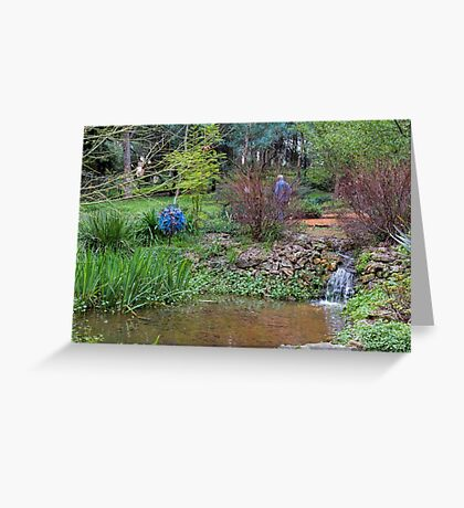 Holberry House Garden, Nannup, Western Australia Greeting Card