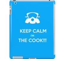 KEEP, CALM,I'M THE COOK !!!  iPad Case/Skin