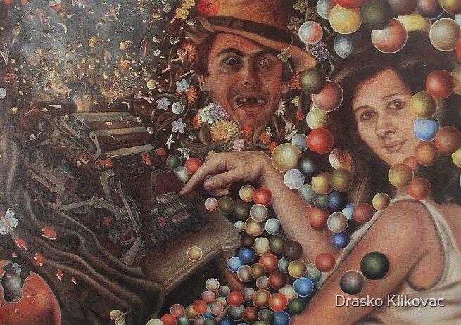 TIME MACHINE, limited edition giclee of D.KLIKOVAC painting by Drasko Klikovac