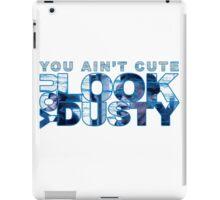 "You Look Dusty ""Reginald"" Jordan 7 Flint grey  iPad Case/Skin"