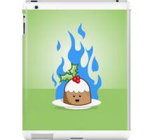 Flaming Pudding iPad Case/Skin