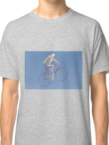 colorful kites bicycle  flying in the sky Classic T-Shirt