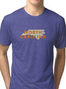 North Carolina - Red Tri-blend T-Shirt