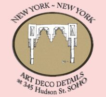 NYC building details 3 - SOHO Art Deco Kids Clothes