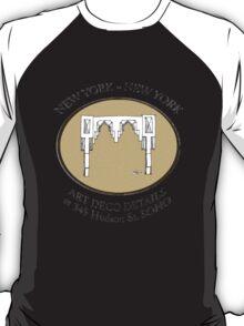NYC building details 3 - SOHO Art Deco T-Shirt
