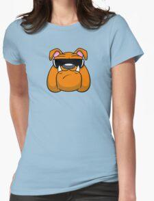 Bull Doggin! Womens Fitted T-Shirt