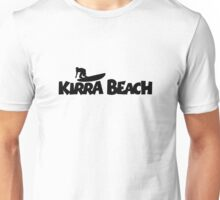 Kirra Beach Surfing Unisex T-Shirt