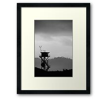 Barview Jetty Lookout Framed Print
