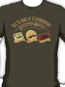 The League of Extraordinary Gentleman Biscuits T-Shirt