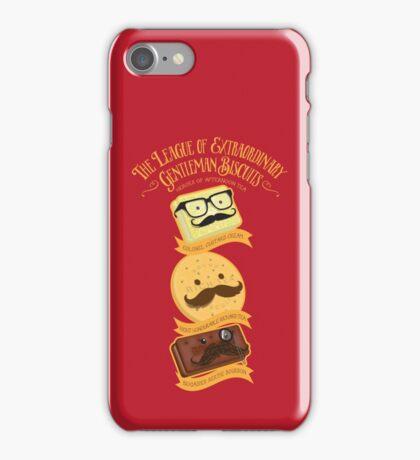 The League of Extraordinary Gentleman Biscuits iPhone Case/Skin