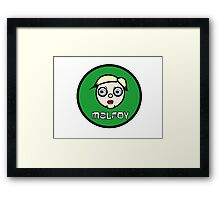 draco malfoy harry potter Framed Print