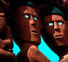 Maori carving by ronsphotos