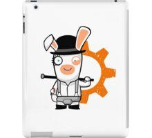 Alex the Rabbid Droog iPad Case/Skin