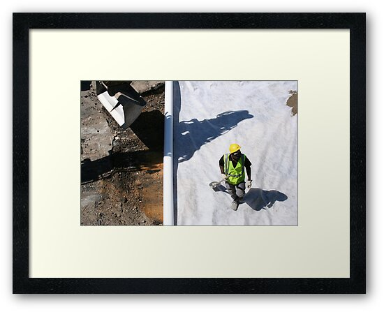 Travaux - Road-Works ahead #5 by Pascale Baud