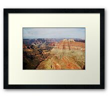Grand Canyon - Helicopter view Framed Print