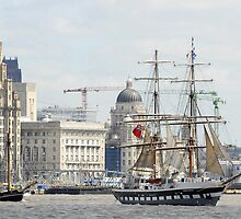 Tall Ships Leave Liverpool by Jeff Dalton