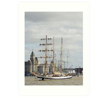 Tall Ships Leave Liverpool Art Print
