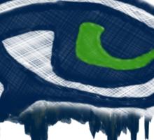 Seahawks Eye in English (SSH-000007) Sticker