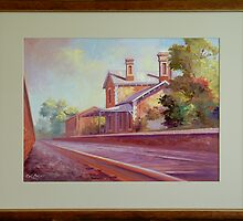 Kangaroo Flat Railway Station by colbrown