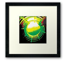 Abstract - New World Paradise Framed Print