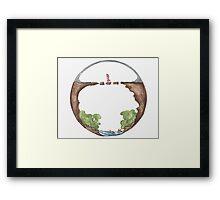 The Faith Mandala Framed Print