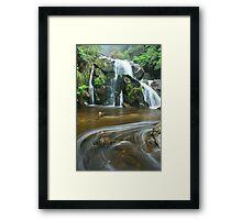 keppels falls top cascade Framed Print