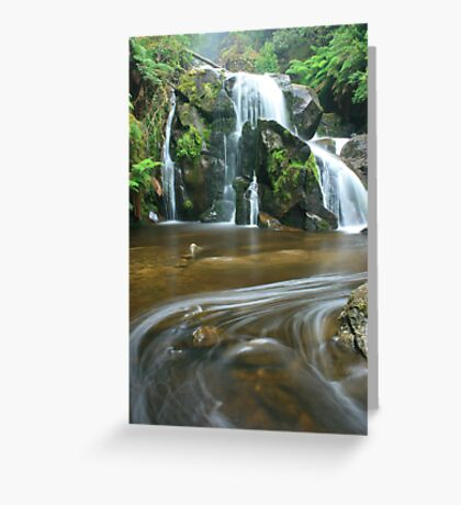 keppels falls top cascade Greeting Card