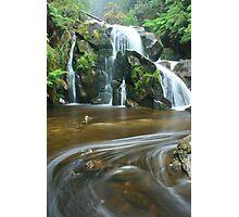 keppels falls top cascade Photographic Print