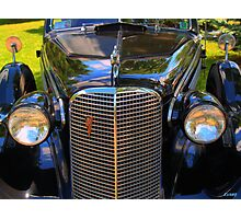 1937 Cadillac Convertible Photographic Print