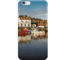 Whitby Harbour Panoramic iPhone Case/Skin