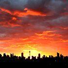 Sydney City sunrise by jongsoolee