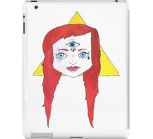 Triangle Girl iPad Case/Skin