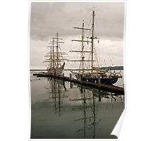 Tall Ships at Tacoma Poster