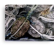 Fishing Cork Metal Print