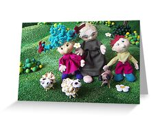 little family Greeting Card