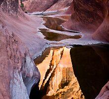 Utah Slot Canyon by LarryGambon