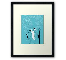 Pipe Wizardry Framed Print