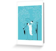 Pipe Wizardry Greeting Card