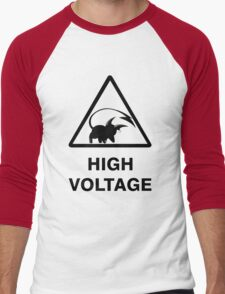 NEW Raichu high voltage pokemon 2 Men's Baseball ¾ T-Shirt