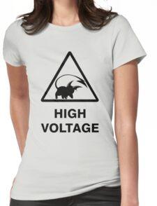 NEW Raichu high voltage pokemon 2 Womens Fitted T-Shirt