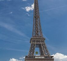 Eiffel Tower, Paris, France #4 by Elaine Teague