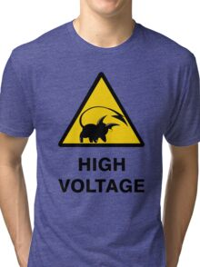 Raichu high voltage pokemon 3 Tri-blend T-Shirt