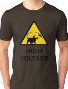 Raichu high voltage pokemon 3 Unisex T-Shirt