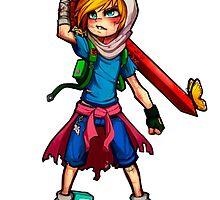 Finn warrior by Baipodo