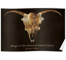 Abeque & Her Forest of Animal Spirits Poster