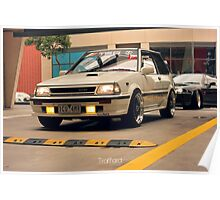 Toyota Starlet Poster