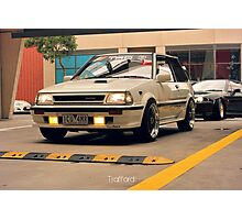 Toyota Starlet Photographic Print