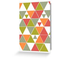Triangles 1.0 Greeting Card